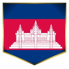 drapeau ecusson cambodge cambodia flag