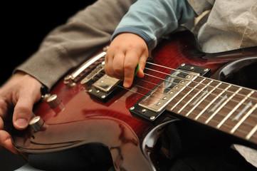 guitare père et fils