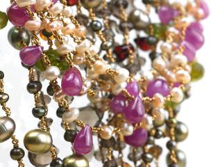 Beautiful gems chains