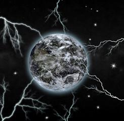 perfect storm - digital art work