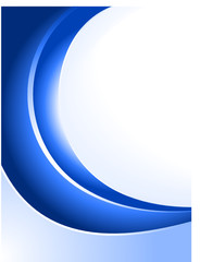 Blue abstract background. (incl radial gradients)