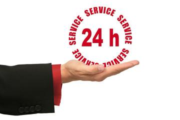 24-h Service