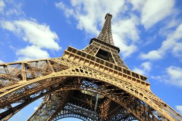 Wall Murals Eiffel Tower Eiffel Tower in Paris, France.