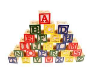 Alphabet learning blocks