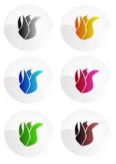 Logos de flammes