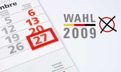 Wahltermin Bundestagswahl