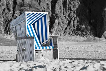 Strandkorb in duochrom