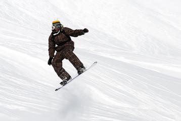 skieur fun
