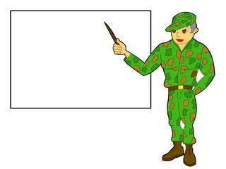 military teacher