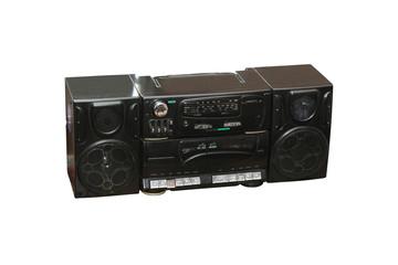 Black audio player