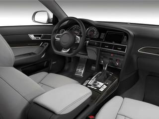 interieur voiture luxe
