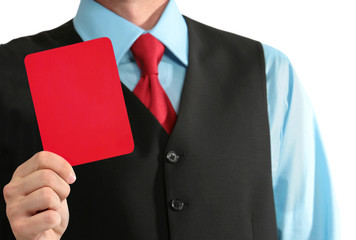 Business Red Card