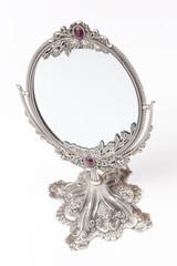 an exquisite European mirror