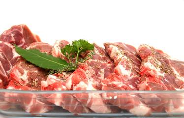 viande échine de porc