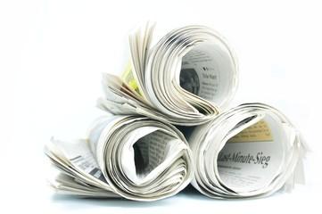 Photo sur Aluminium Journaux Zeitungen