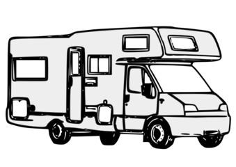 Photos illustrations et vid os de par fr d ric massard - Camping car a colorier ...