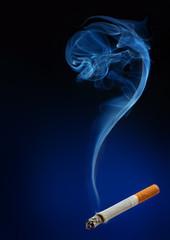 Smoke as question mark