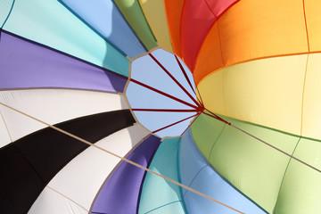 Wall Murals Sky sports Parachute Colors