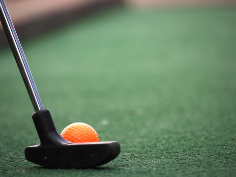 Mini Golf Orange Ball