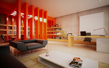 office in modern style design