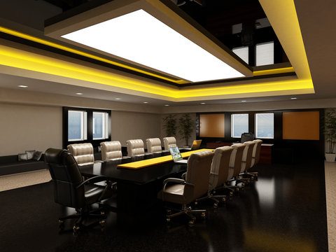 boardroom in modern style