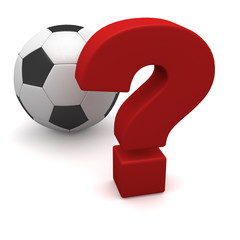soccer ball and question