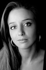 Beautiful woman. Fashion art photo. Close-up face