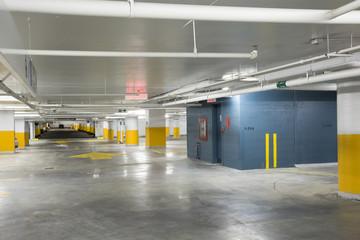New underground parking garage
