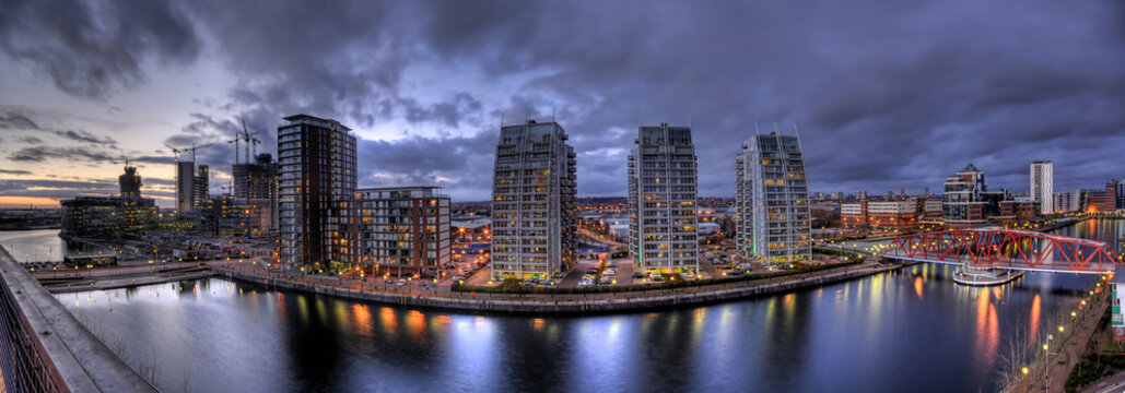 View on Salford Quays