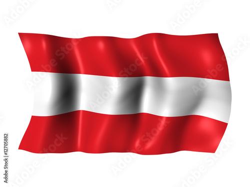 austria flag sterreich fahne stockfotos und lizenzfreie bilder auf bild 12705882. Black Bedroom Furniture Sets. Home Design Ideas