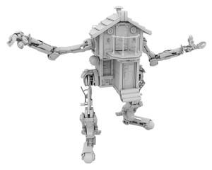 Robotic House, White