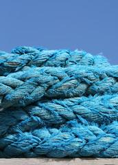 Wall Mural - pêche,bateau,corde,cordage,cordes,s,bleu ,bleue ,bretagne