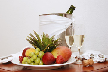 Fruit and Champagne