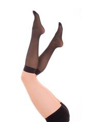 Elegant female legs in socks