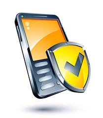 Téléphone portable protection OK