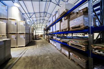 modern warehouse
