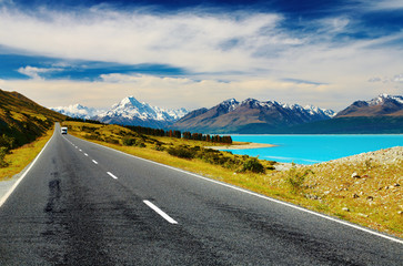 Wall Mural - Mount Cook, New Zealand
