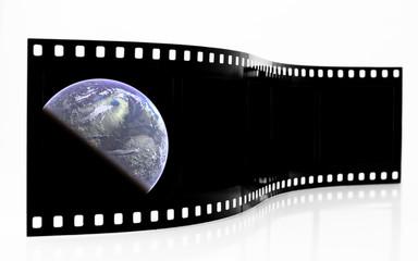 Earth Film Strip