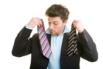 Krawatte aussuchen
