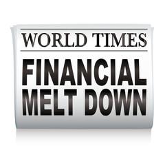 newspaper financial