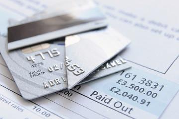 cut up credit card