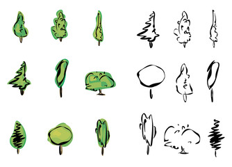 Vector of trees.