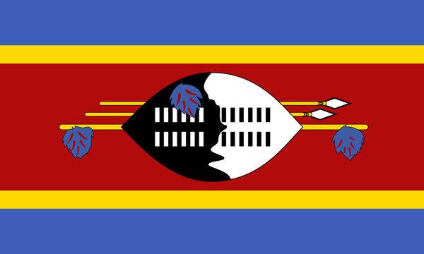 swasiland fahne swaziland flag