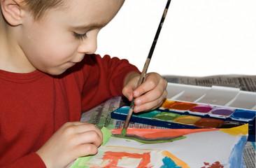 kleiner Künstler