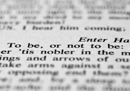 The popular phrase from Hamlet
