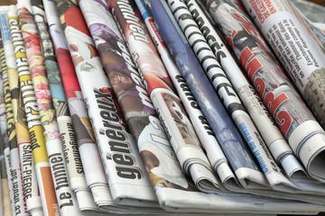 Obraz journaux - fototapety do salonu