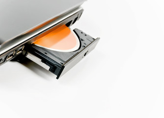 laptop with disk drive