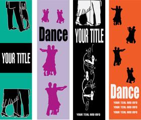 Ballroom Dancing Web Banner Templates