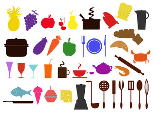food n kitchen icons
