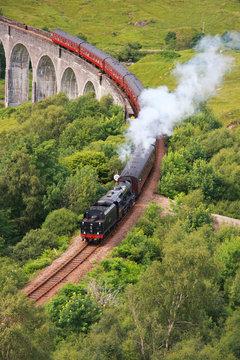 Glenfinnan Viadukt, Scotland, UK